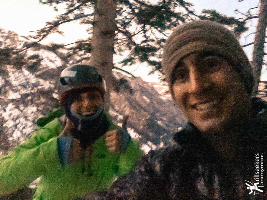 Summit selfie!  As horrible as photography can get ;) [Bird Brain Boulevard - Ouray, CO]