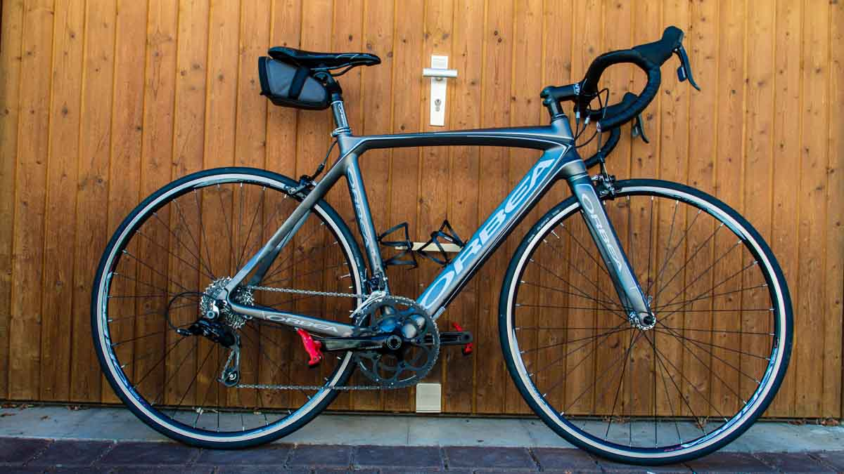 Orbea Orca Bronze Sram Rival Complete Road Bike 2013 Size 53