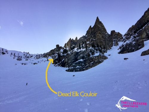 Descent Couloir