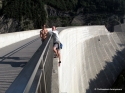 The top out - Luzzone Dam, Switzerland