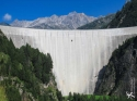 See us on P2? - Luzzone Dam, Switzerland