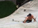 So that's how the poop got on that crimp - Luzzone Dam, Switzerland
