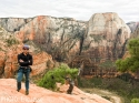 The top! Now for the Angel's Landing link up.