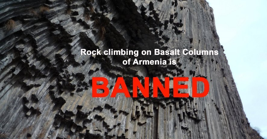 Climbing Armenia's Basalt Columns – BANNED! featured image