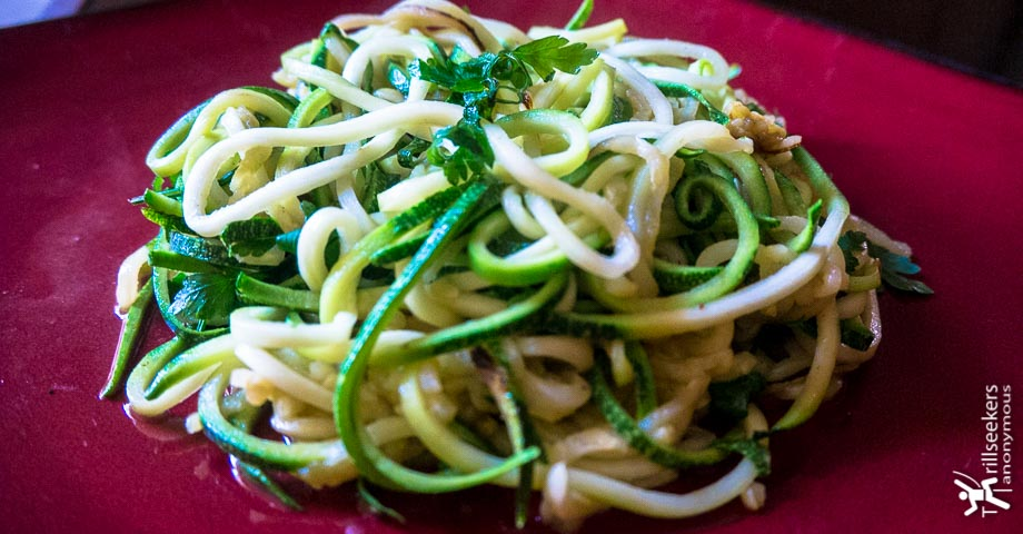 Gluten Free Zucchini Pasta featured image