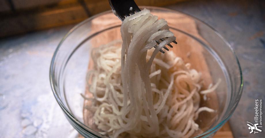 Gluten Free Daikon Pasta featured image