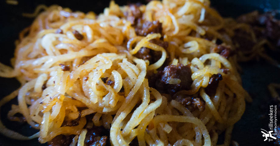 Gluten Free Daikon Carbonara with Chorizo featured image